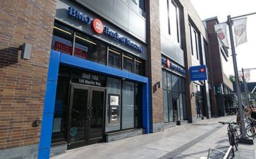Image showing the front of the Bank of Montreal branch at TD Place