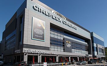 Image showing the front of Cineplex VIP Cinemas at TD Place