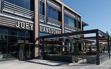 Image of the front of Joey's Lansdowne restaurant