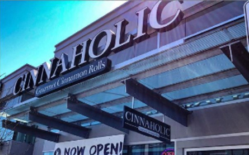 Image of the front of Cinnaholic at TD Place